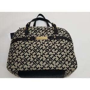 Tommy Hilfiger satchel Tan/Black handbag NWT